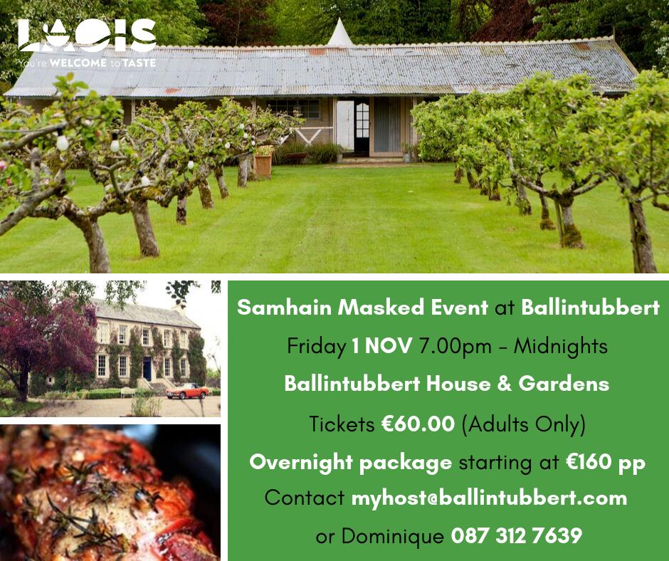 Samhain Masked Event at Ballintubbert