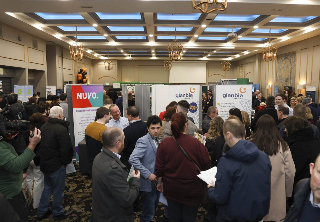 The Laois Jobs Fair organised by the Laois Chamber of Commerce in the Midlands Park Hotel, Portlaoise. Photo: Alf Harvey, no reproduction fee.