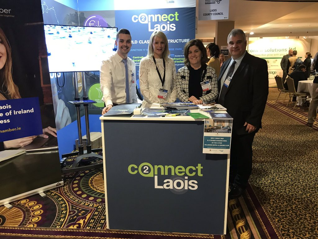 Laois County Council Laois Chamber and Webmill at the National Manufacturing & Supply Chain Conference 2020