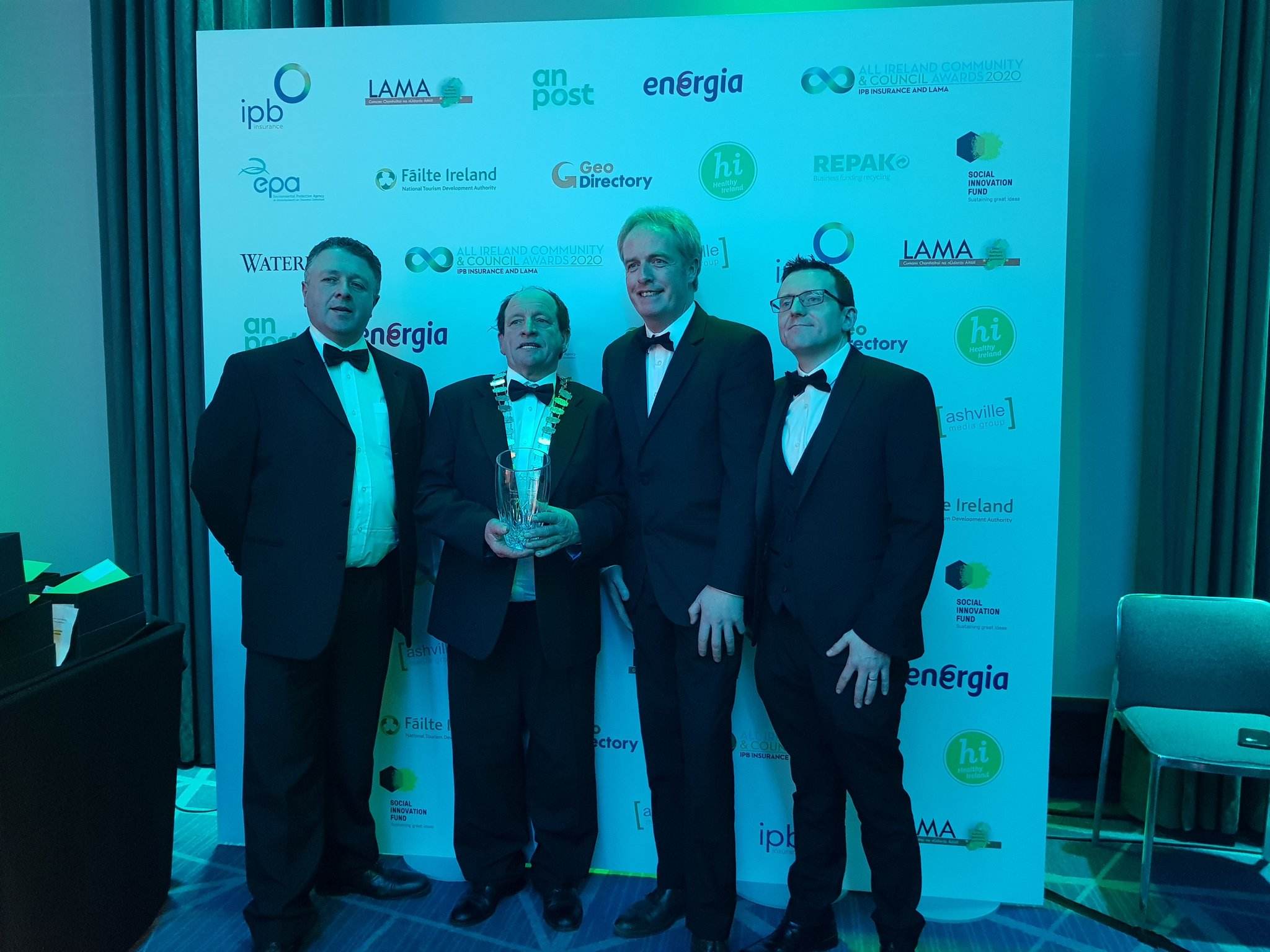 J17 National Enterprise Park Wins Innovation Award At LAMA All Ireland Community & Council Awards
